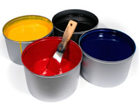 southwestern Printing Paint Can Photo